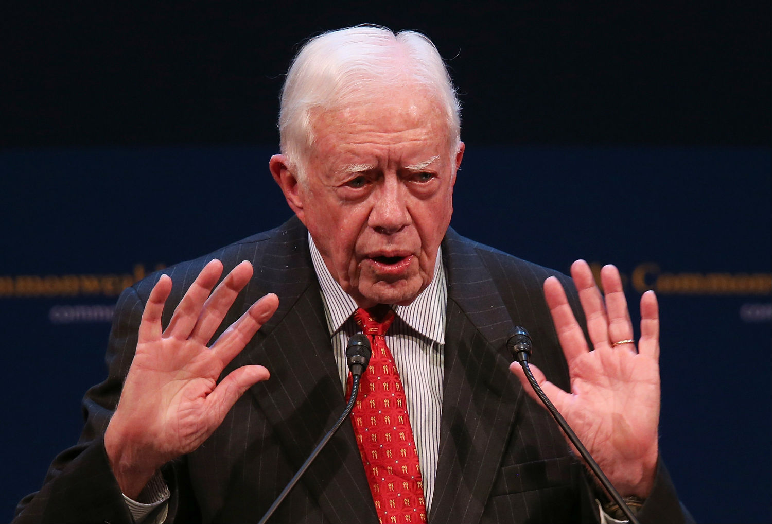 39th President of the United States and Founder of The Carter Center Jimmy Carter James Earl Carter Jr thirtyninth president of the United States was born