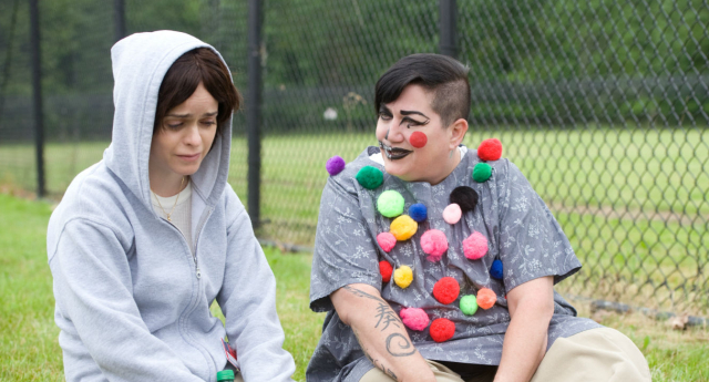 Lea DeLaria (right) and Taryn Manning (left)  (Netflix)
