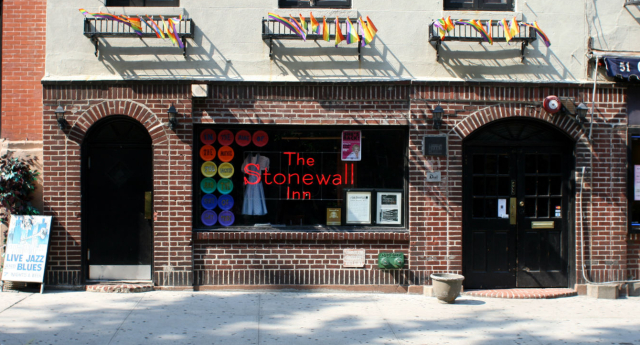 The Stonewall Inn: Location of the 1969 Stonewall riots (Jemal Countess/Getty Images)