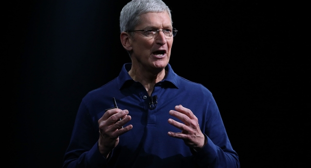 Apple CEO Tim Cook came out last year (Photo by Justin Sullivan/Getty Images)