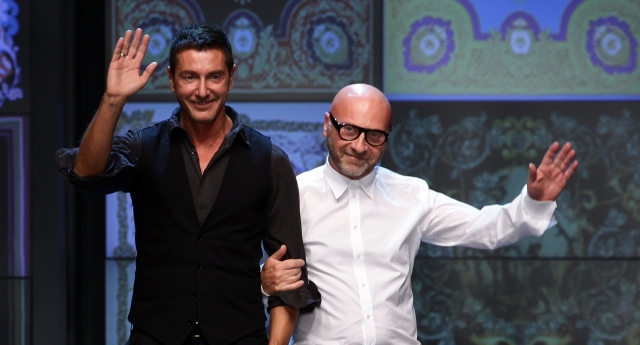 Domenico Dolce and Stefano Gabbana have apologised (Photo by Vittorio Zunino Celotto/Getty Images)