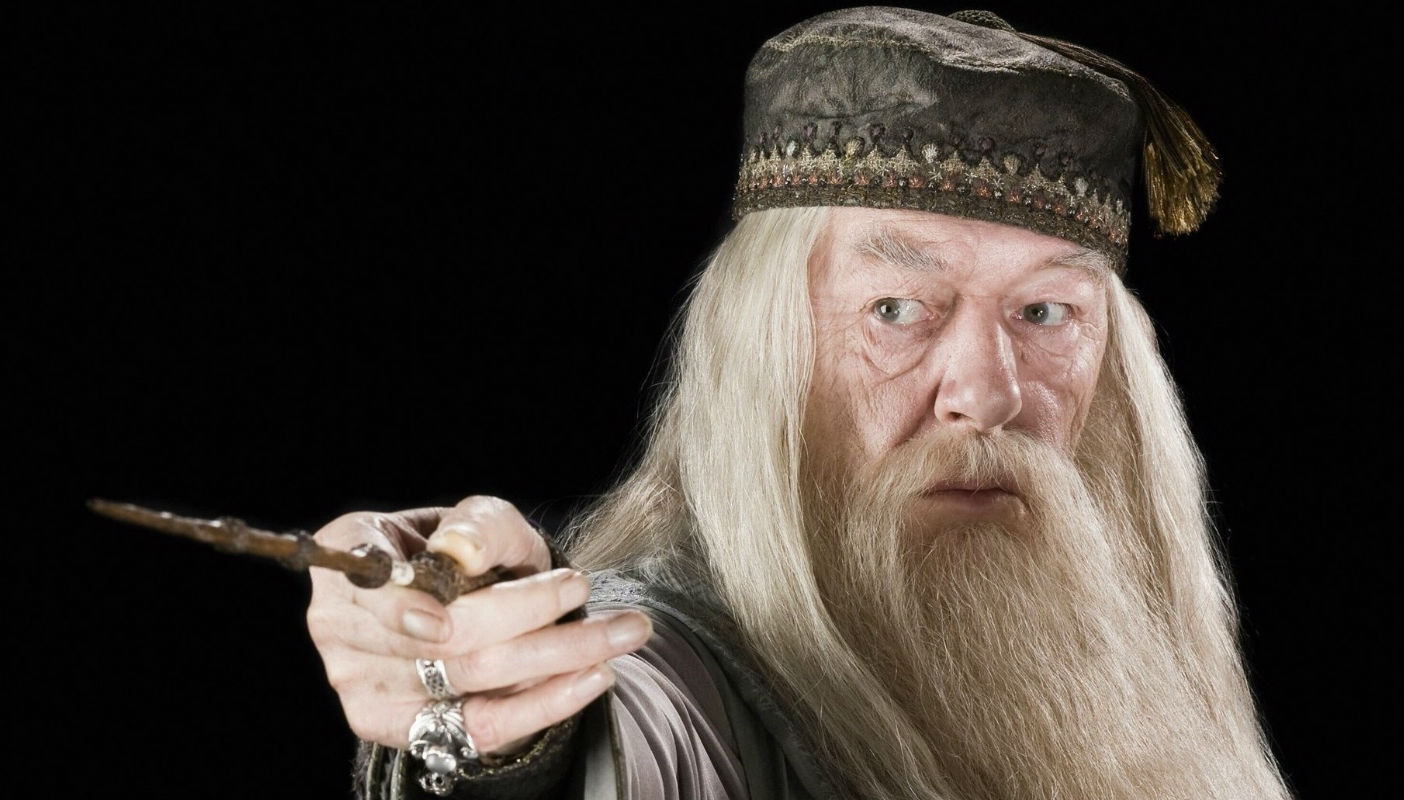 Could a younger gayer dumbledore appear in harry potter for Dumbledore first wand