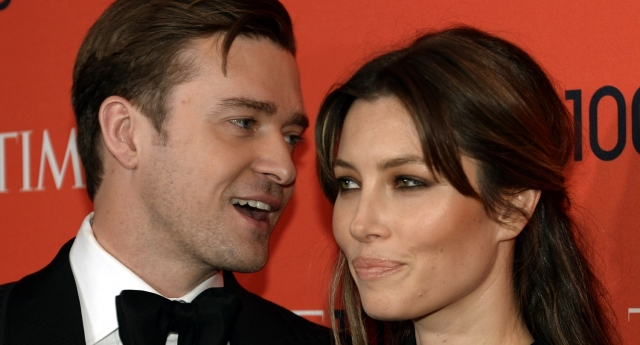 Jessica Biel and Justin Timberlake will be honoured at the GLSEN Respect Awards (Image: Getty - used under licence)