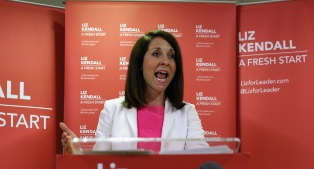 Liz Kendall was not amused by the comments (Photo by Dan Kitwood/Getty Images)