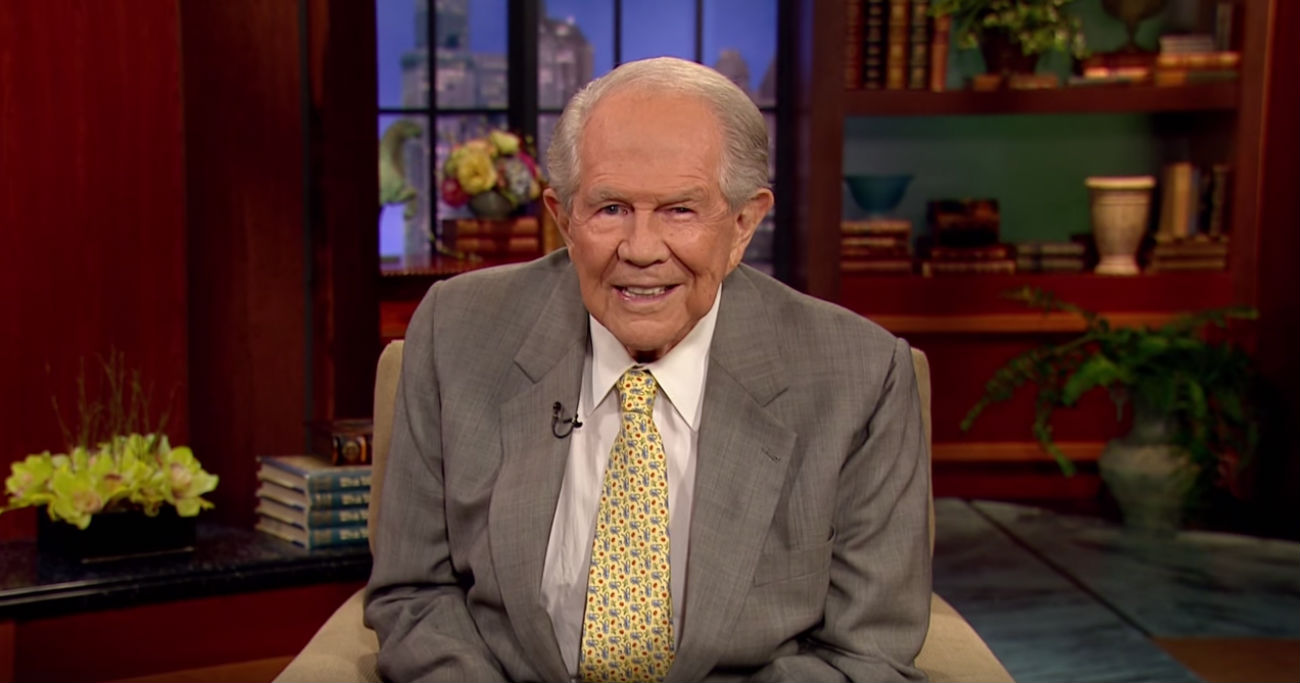 The 700 Club host Pat Robertson