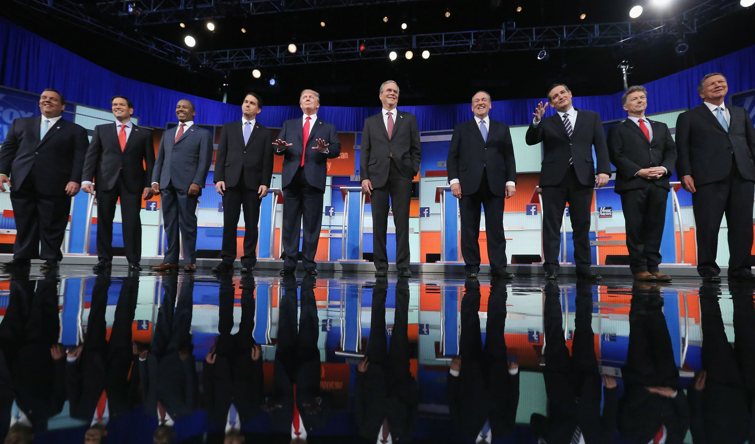Four Presidential candidates sign pledge to void all gay marriages