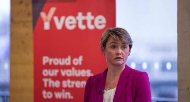 Yvette Cooper accused Andy Burnham of using 'anti-suffragette strategies' (Photo by Dan Kitwood/Getty Images)