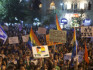 Thousands gathered to protest homophobia in Jerusalem last night (Lior Mizrahi/Getty Images)