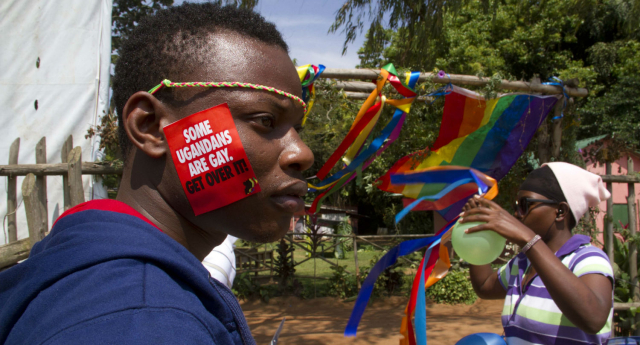 Uganda's Gay Pride parade is set to take place this weekend, despite staunch opposition (ISAAC KASAMANI/AFP/Getty Images)