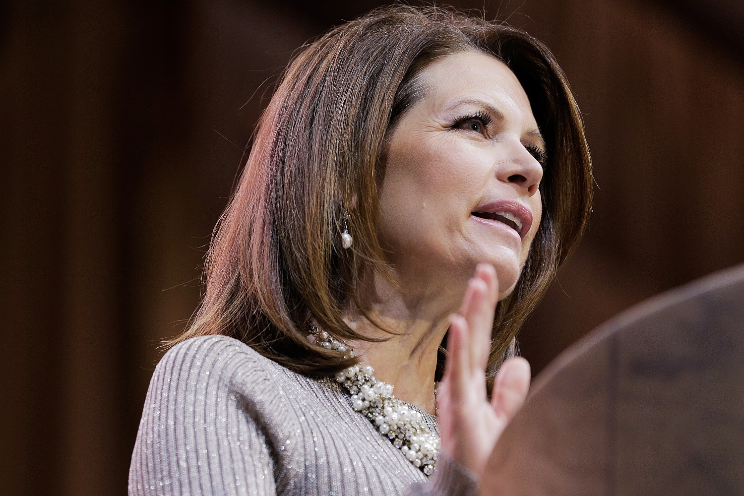 Bachmann Considering Run To Replace Franken