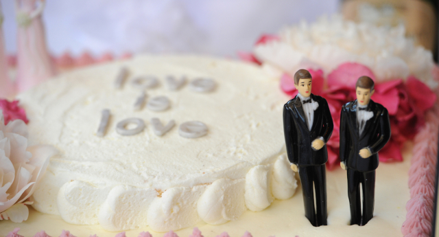 Florida has scrapped 'Bride' and 'Groom' (ROBYN BECK/AFP/Getty Images)