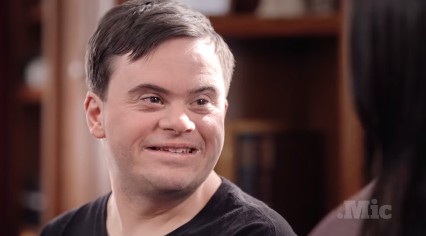 down syndrome with Man