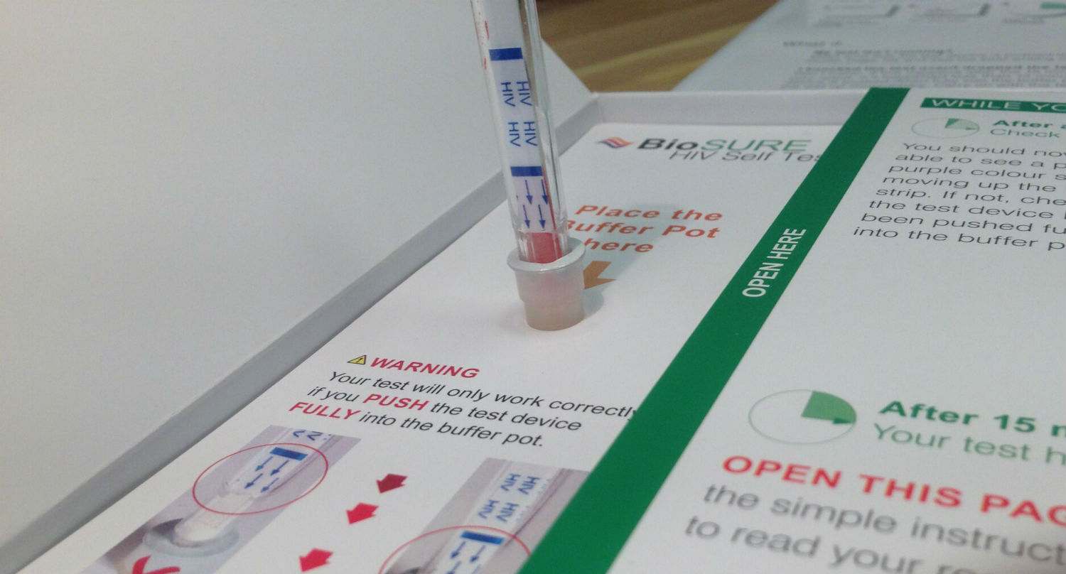 France begins selling hiv self testing kits that give you - Test hiv periodo finestra 2015 ...