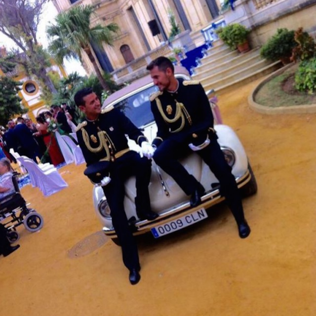 First gay police couple marry in Jerez de la Frontera