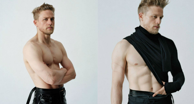 Charlie Hunnam Is Ready to Get Naked on Camera (Again!)