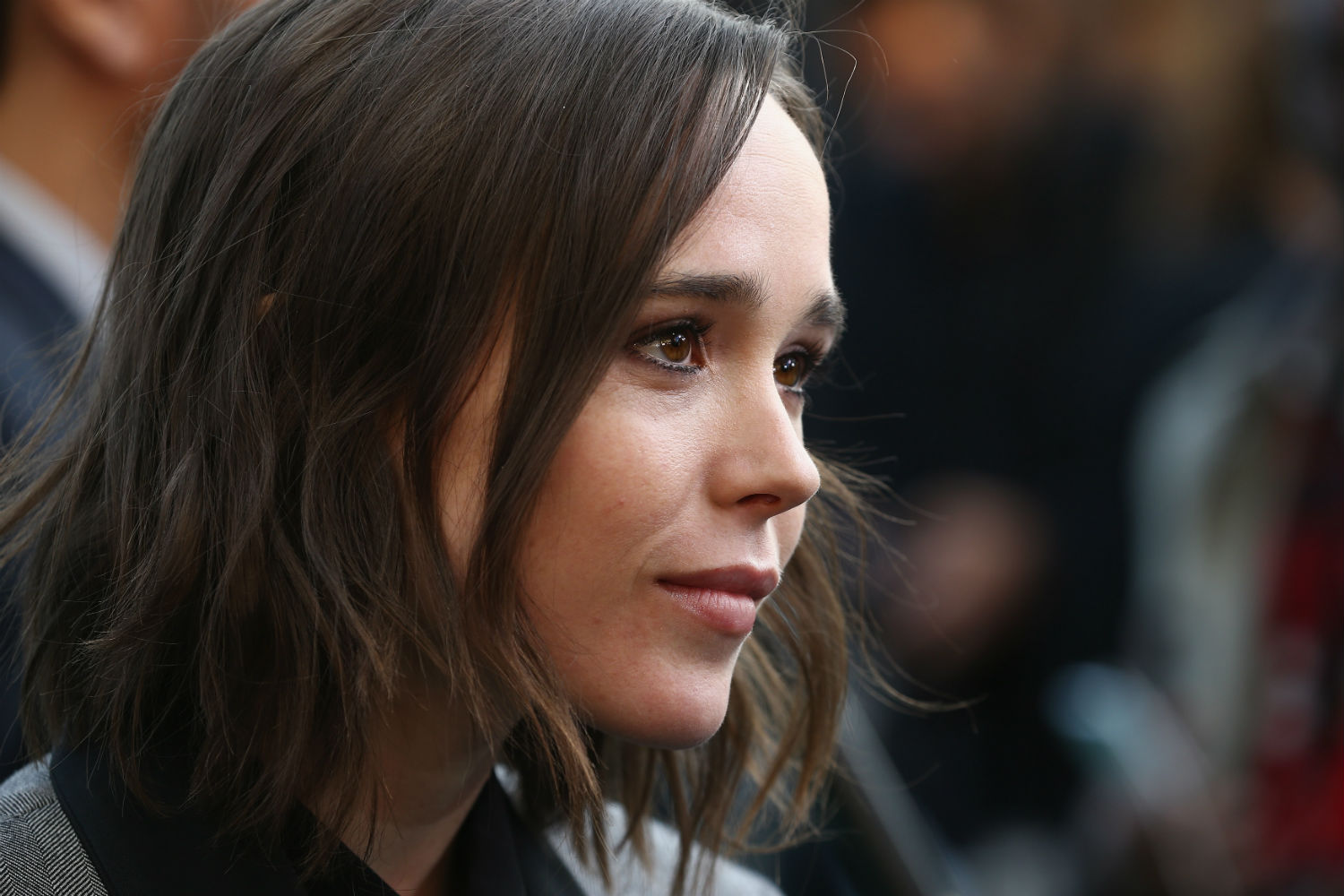 Ellen Page rallies support for LGBT rights during stirring ... Ellen Page