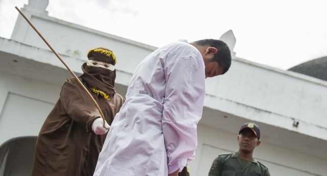 You can be caned for a number of offenses in Aceh (CHAIDEER MAHYUDDIN/AFP/Getty Images)