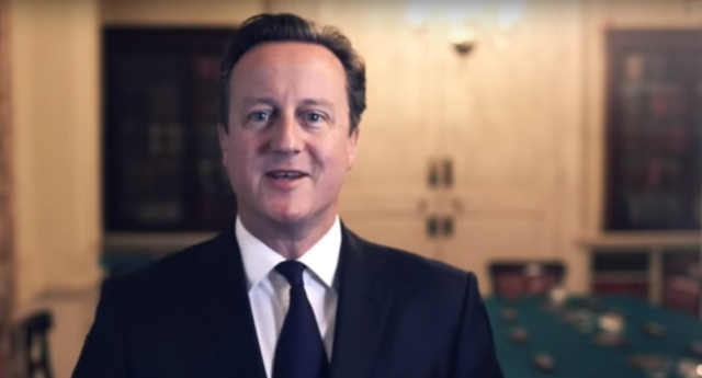 David Cameron praised PinkNews for 'backing him up' on equal marriage