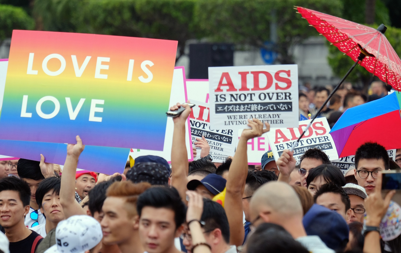 Being gay in Taiwan is rarely an issue