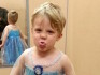 Caiden is allowed to go as Elsa for Halloween