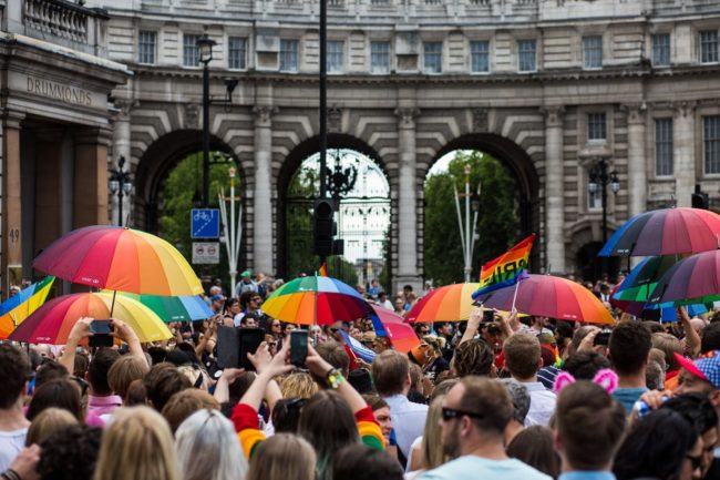 Gay Pride Is Celebrated In London