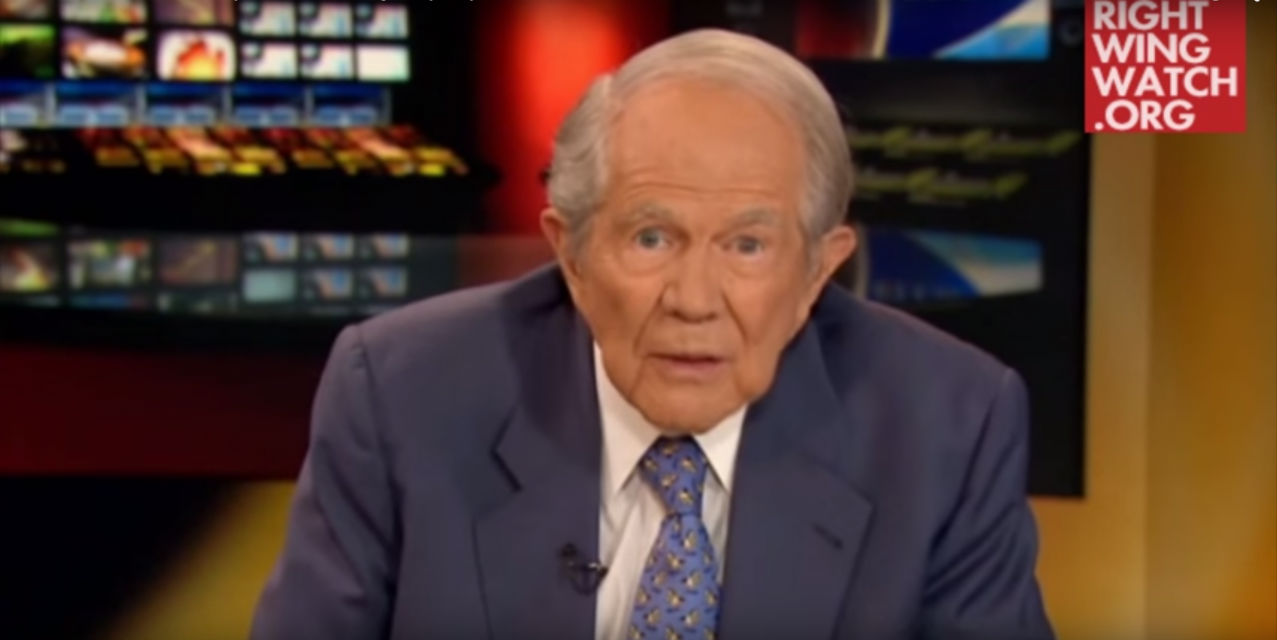 Pat robertson homosexuality and christianity