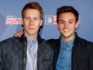 Dustin Lance Black and Tom Daley (Getty)