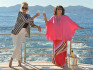 The Ab Fab film has been accused of using 'yellowface'