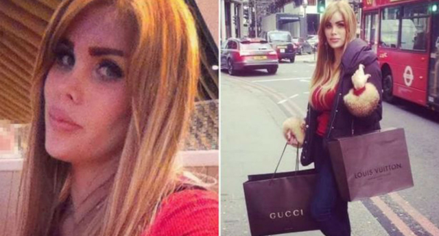 Vanessa Santillan, who worked as an escort, was found dead by police in a London flat in March (Facebook)