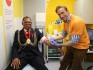 Dr Christian carried out an HIV test for the Mayor of Lambeth