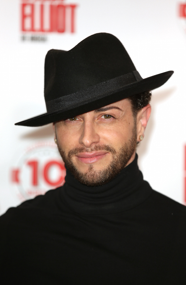LONDON, ENGLAND - MAY 12:  Brian Friedman arrives for the 10 Year Anniversary performance of Billy Elliot at Victoria Palace Theatre on May 12, 2015 in London, England.  (Photo by Tim P. Whitby/Getty Images)