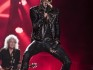 Adam Lambert performing with Queen (Photo by Raphael Dias/Getty Images)
