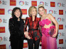 Lily Tomlin, Jane Fonda and Miley Cyrus at the awards (Getty Images)