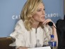 Blanchett stands firm in the face of yet another bizarre question (Photo by Eugene Gologursky/Getty Images for The Weinstein Company)
