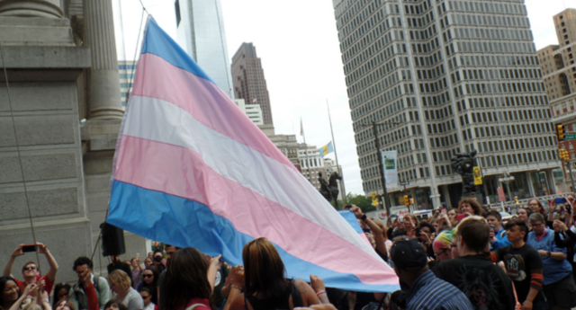 Hate crimes against trans people have risen by a third (Getty Images)