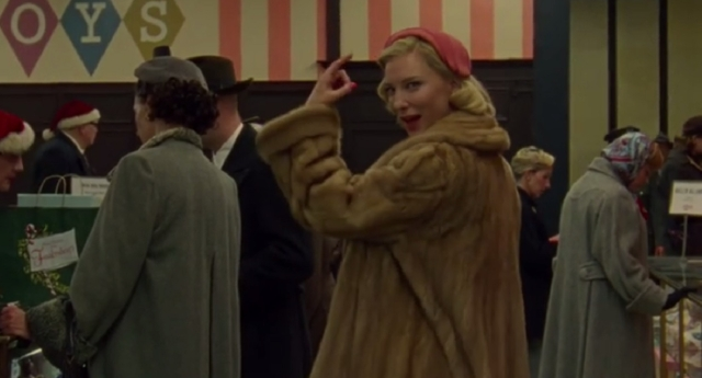Cate Blanchett stars as Carol who persues a romantic relationship with Rooney Mara's Therese (Carol/YouTube)