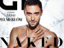 Mans Zelmerlow was one of four celebrities to pose naked for the cover