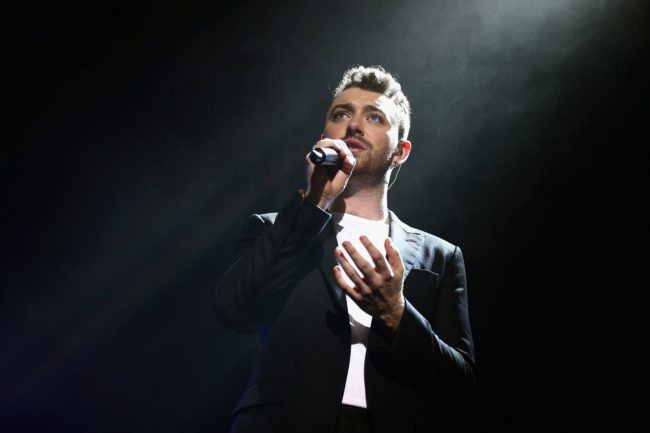 Sam Smith in concert (Getty Images)