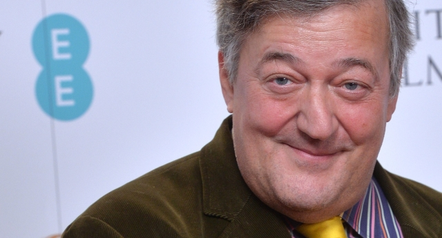 Stephen Fry spoke out on the issue