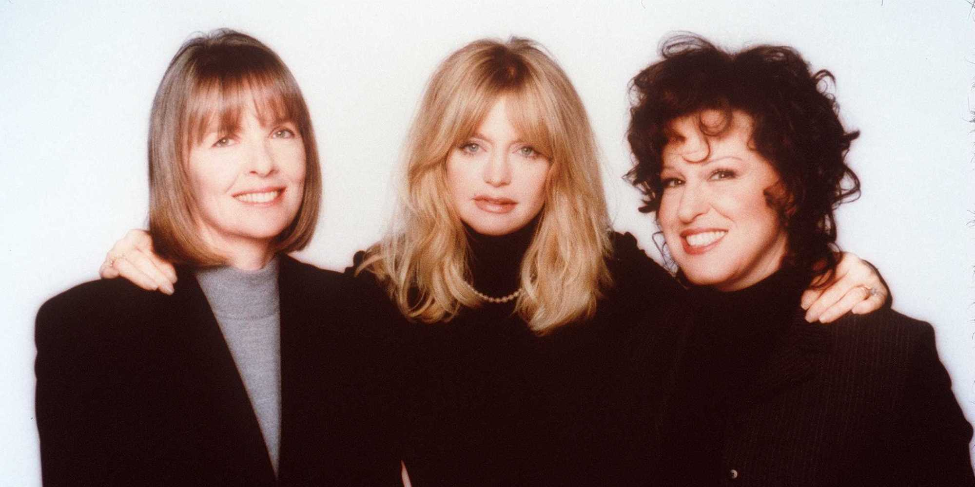 DIANE KEATON, GOLDIE HAWN, BETTE MIDLER STAR IN THE FIRST WIVES CLUB
