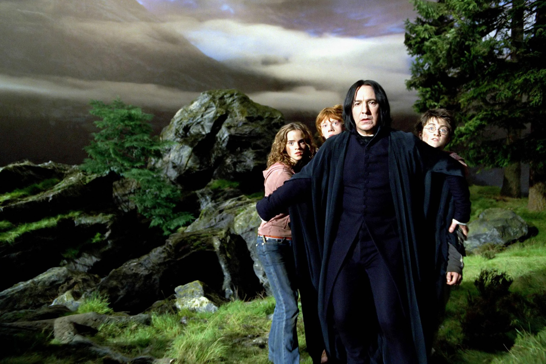 Harry Potter featuring Severus Snape
