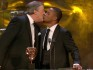 Stephen Fry and Cuba Gooding Jr kissed on the BAFTAs stage last year