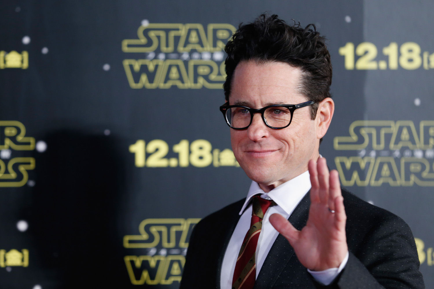 TOKYO, JAPAN - DECEMBER 10: Director J.J. Abrams attends the 'Star Wars: The Force Awakens' fan event at the Roppongi Hills on December 10, 2015 in Tokyo, Japan. (Photo by Christopher Jue/Getty Images for Walt Disney Studios)