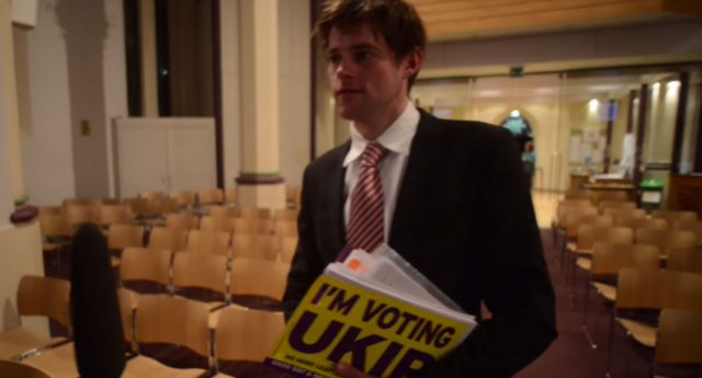 Richard Hendron has resigned from UKIP over the candidate