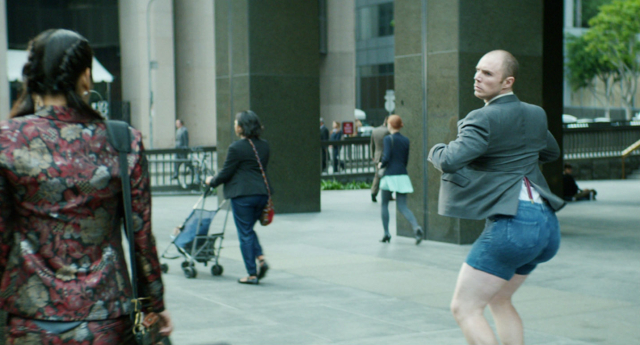 Dave's epic strut is allegedly too 'sexual' for some... (MoneySupermarket