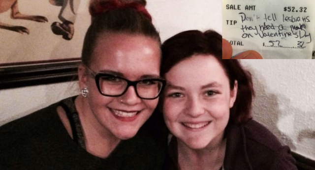 Ellie Parker and Lucy Stenger planned a romantic meal out