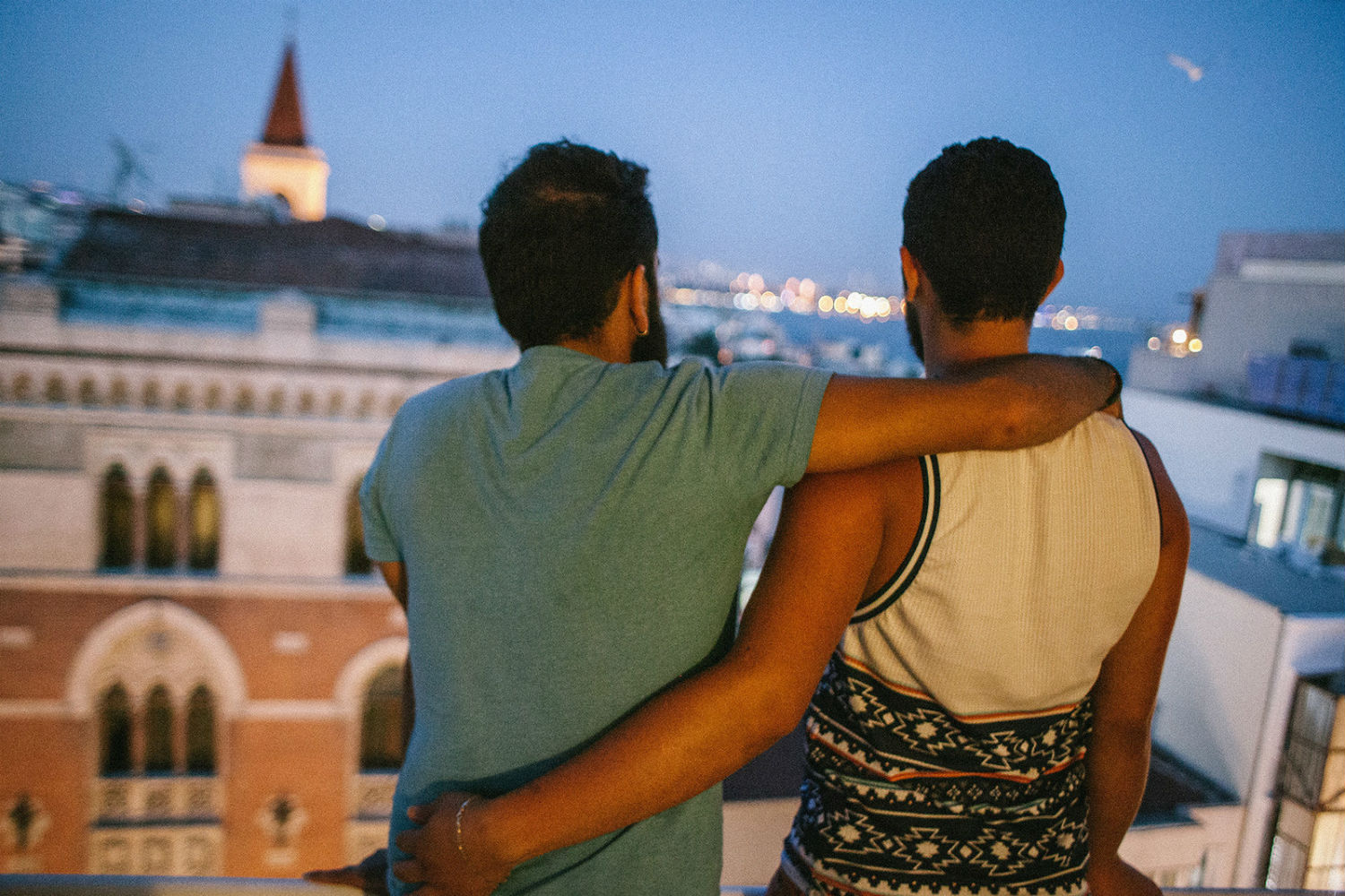 Gay asylum seekers (Getty)