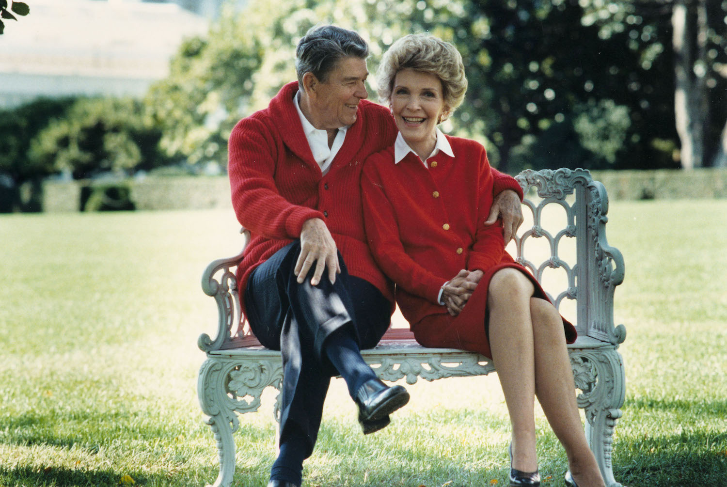 The Reagan''s Celebrate Their 50th Anniversary