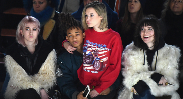 Jaden Smith at New York Fashion Week (Getty Images)