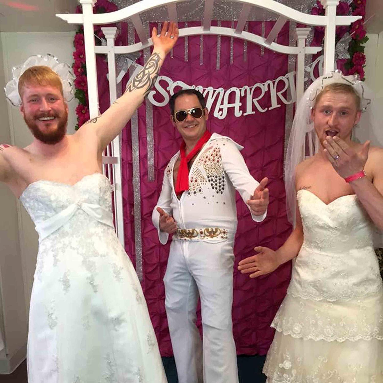 Gay Wedding Dresses 39 Marvelous The pair staged an
